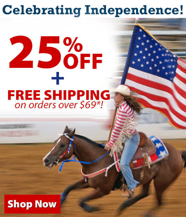 Celebrating Independence! 25% Off + Free Shipping over $69!*
