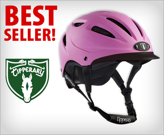 Best Seller! Tipperary Sportage 8500 Riding Helmet†!