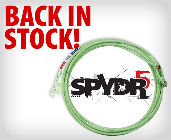 Back in stock! Classic Spydr 5-Strand 30-foot Head Rope†!