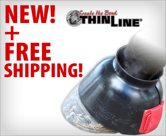 New + FREE shipping on the ThinLine® GatorBootz®†!