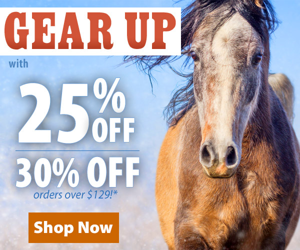 Gear Up With 25% Off or 30% Off Orders over $129!*