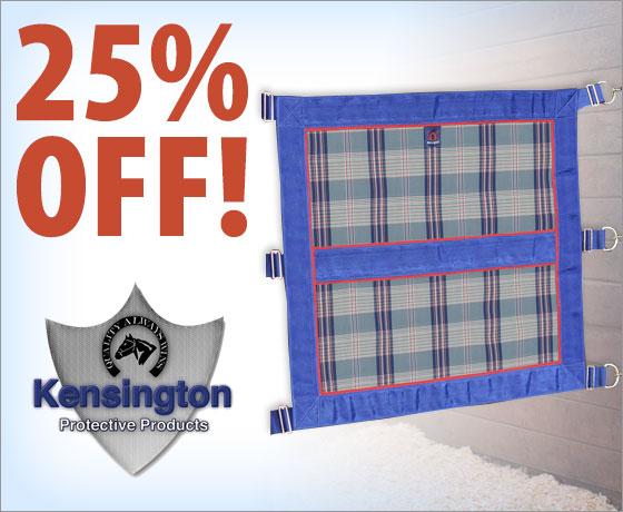 25% off the Kensington® Stall Door Guard†!