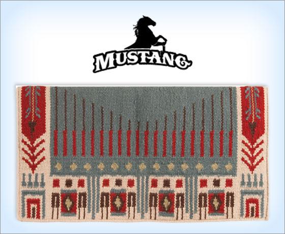 Mustang Good Medicine Wicked Saddle Blanket!