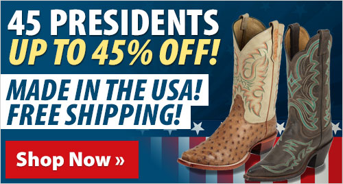 45 Presidents Up to 45% off! Made in the USA! Free Shipping!