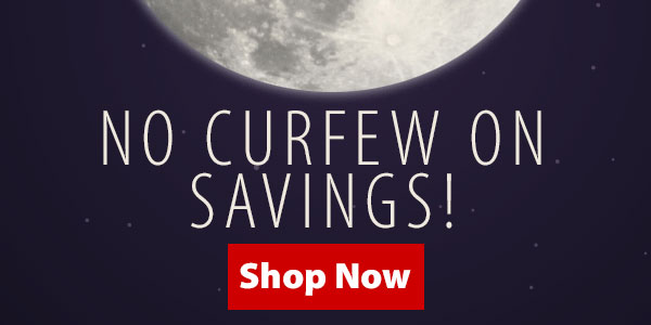 No Curfew On 25% Off + Free Shipping over $89!*