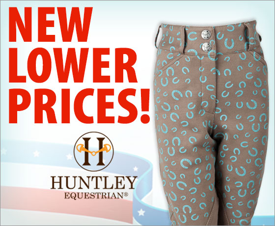 New lower prices! Huntley Equestrian Child's Apparel†!