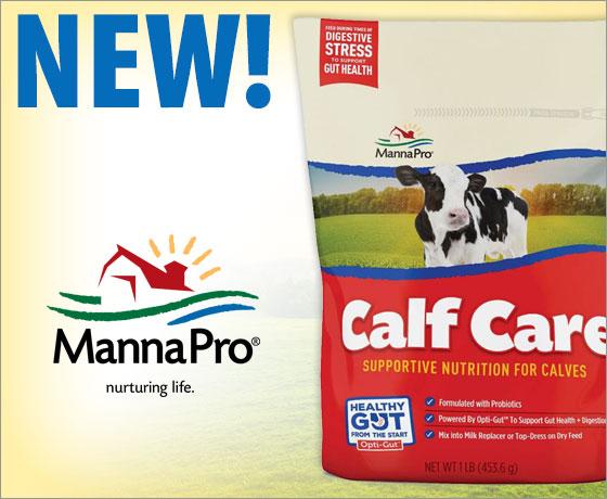 New! Manna Pro® Calf Care™!