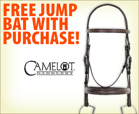 FREE Jump Bat with purchase of Camelot® Bridles†!