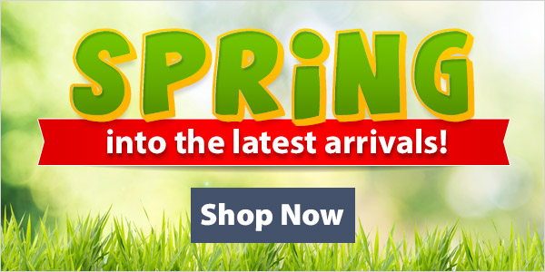 Spring into the latest arrivals! 25% Off + $2.99 Shipping over $89!*