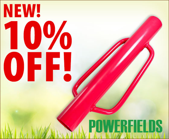 New! 10% off the Powerfields T-Post Pounder!