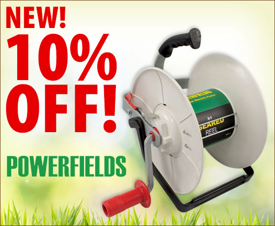 New! 10% off the Powerfields 3:1 Geared Reel!