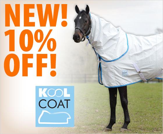 New! 10% off the Kool Coat® Lite Combo Neck!