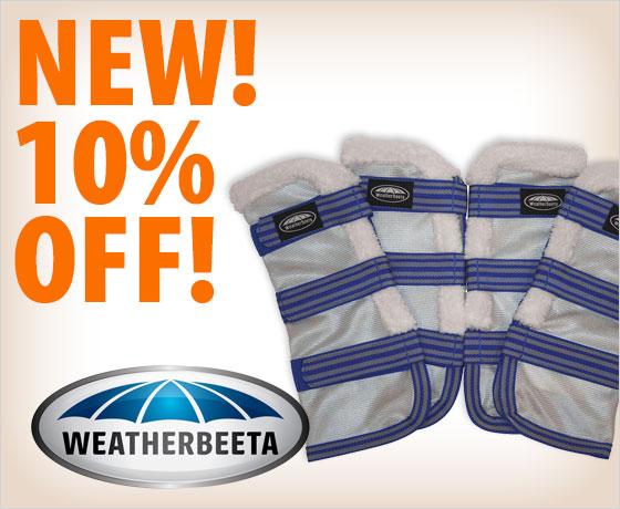 New! 10% off WeatherBeeta ComFiTec™ Airflow Mesh Wraps!