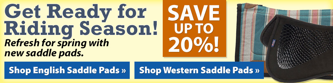 Get Ready for Riding Season! Save up to 20%!