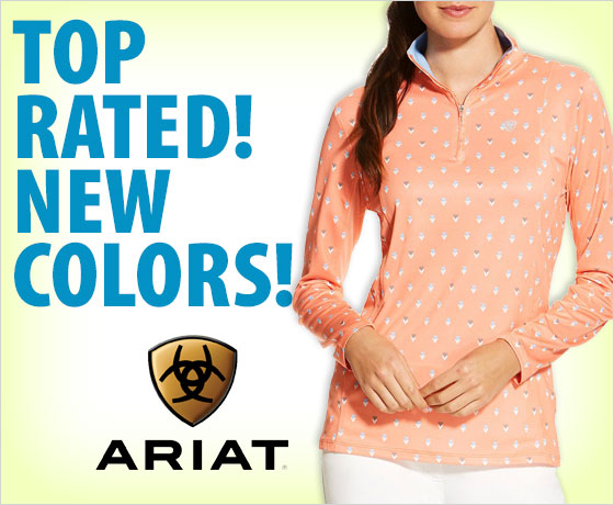 Top rated! New colors! Ariat® Women's Sunstopper ¼ Zip!