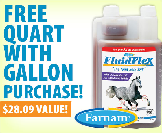 FREE quart with gallon purchase of Farnam® FluidFlex™!