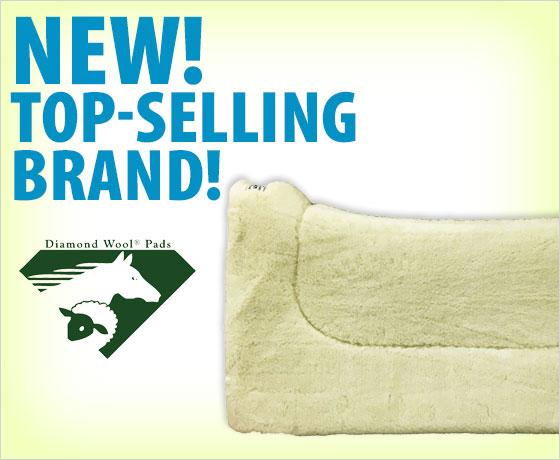 New! Top-selling brand! Diamond Wool® Contoured Wool Fleece ½-inch Liner!