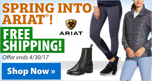 Spring into Ariat®! Free shipping!