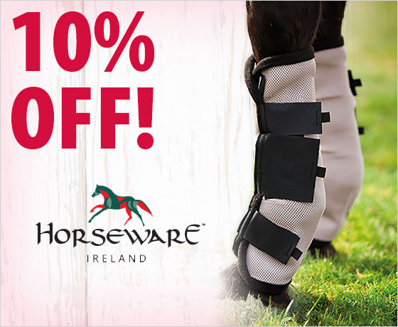 10% off on the Horseware® Amigo® Fly Boots†!