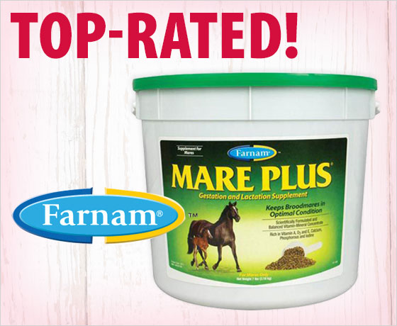 Top-rated! Farnam® Mare Plus®†!