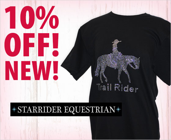 10% off! New! Starrider Equestrian Ladies' Trail Rider Boyfriend Tee†!