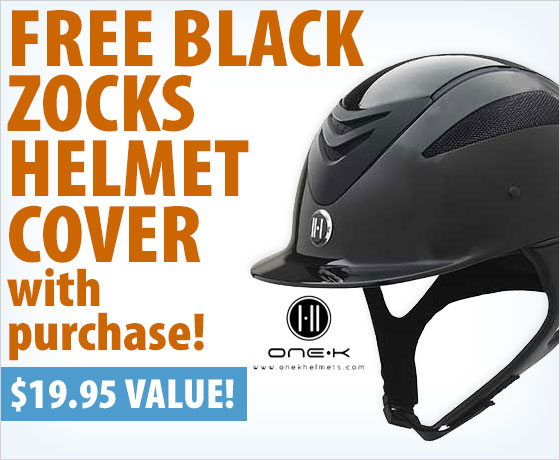 FREE Black Zocks Helmet Cover with purchase of One K™ Helmets†!
