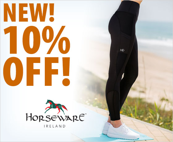 New! 10% off the Horseware® Ladies' Riding Tights†!