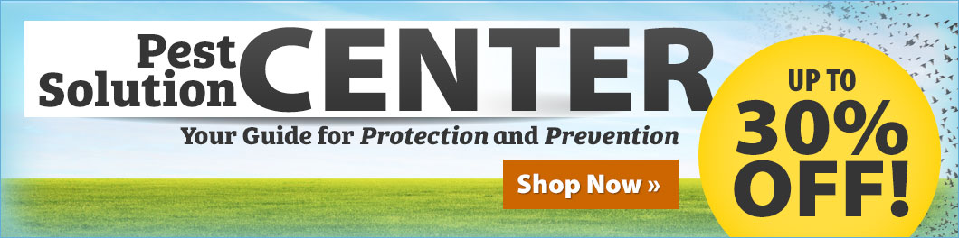 Pest Solutions Center! Up to 30% off!