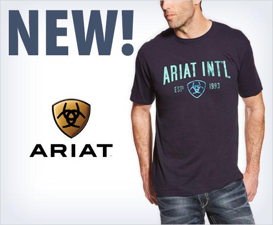 New! Ariat® Men's Tees!