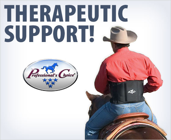 Therapeutic support! Professional's Choice® Back Support!