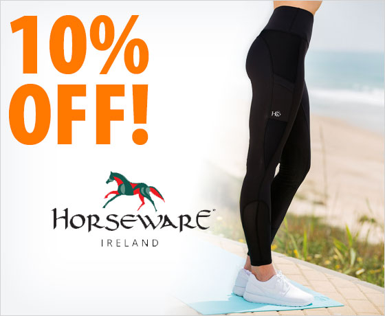 10% off the Horseware® Ladies' Riding Tights†!