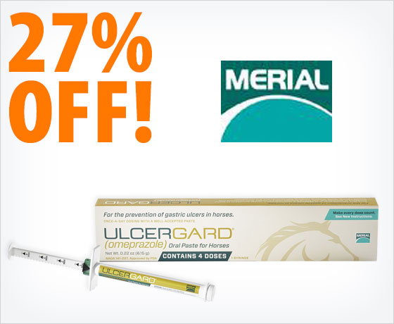 27% off Merial® UlcerGard®†!