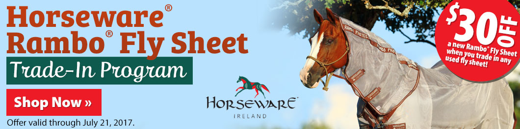 Horseware® Rambo® Fly Sheet Trade-In Program!