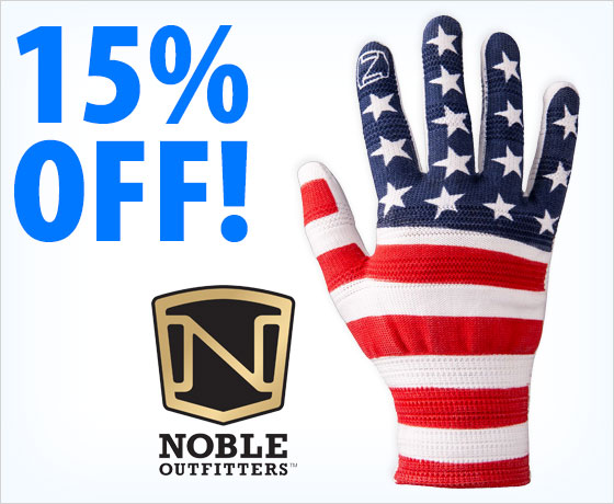 15% off the Noble Outfitters® True Flex Roping Gloves 12-Pack†!