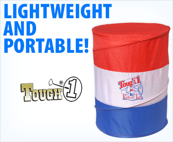Lightweight and portable! Tough-1® Perfect Turn Barrel Set 3-Pack!