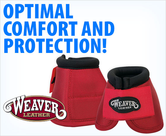Optimal comfort and protection! Weaver® Prodigy Ballistic No-Turn Bell Boots†!