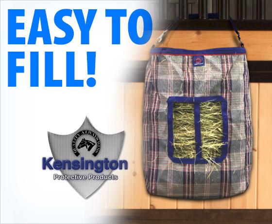 Easy to fill! Kensington® 2 Flake Hay Bag With Rim!