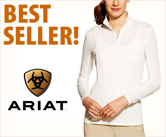 Best seller! Ariat® Women's Sunstopper ¼ Zip!