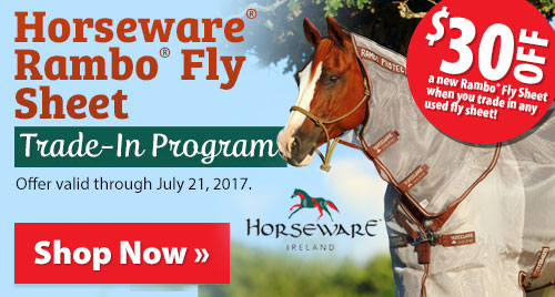 Horseware® Rambo® Fly Sheet Trade-In Program!