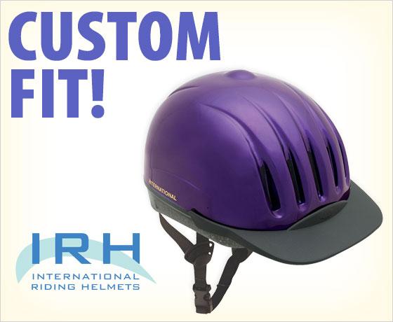 Custom fit! IRH Equi-Lite DFS Helmet†!