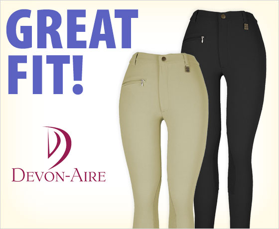 Great fit! Devon-Aire® Ladies' All-Pro Ribbed Breech!