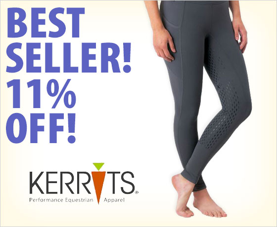 Best seller! 11% off the Kerrits® Ladies' Ice Fil® Tech Tights†!