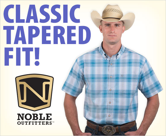 Classic tapered fit! Noble Outfitters™ Men's Generations Fit Short Sleeve Shirt†!