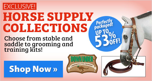 Exclusive! Horse Supply Collections! Perfectly packaged! Up to 53% off!