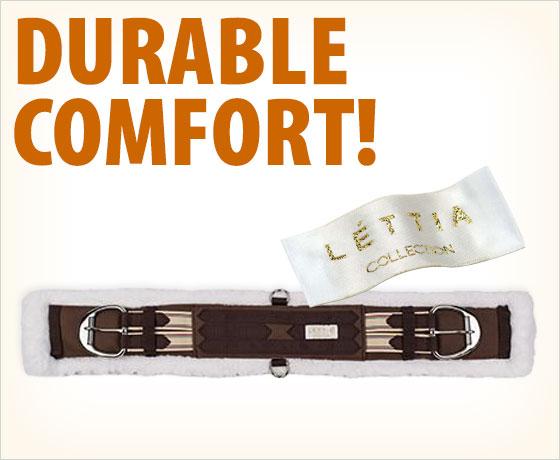 Durable comfort! LÉTTIA® Western Memory Foam Cinch†!