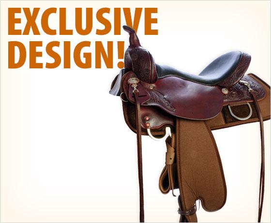 Exclusive design! Patriot Elite Cisco Trail Saddle†!