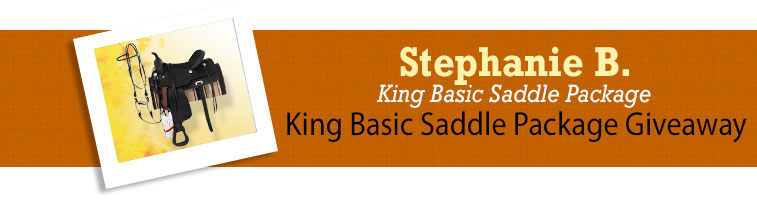 Horse.com's King Basic Saddle Package Giveaway