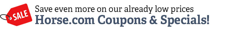 Official Horse.com Coupons and Specials