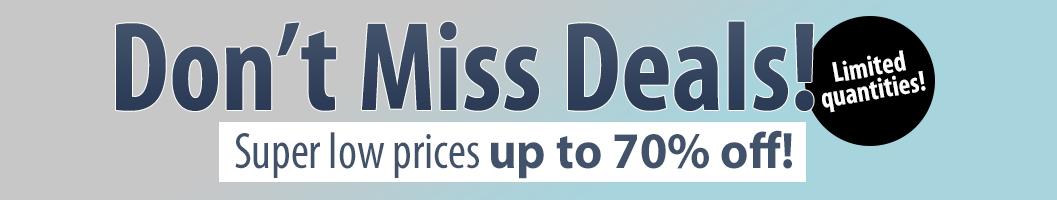 Don't Miss Deals!