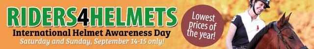 International Helmet Awareness Day!